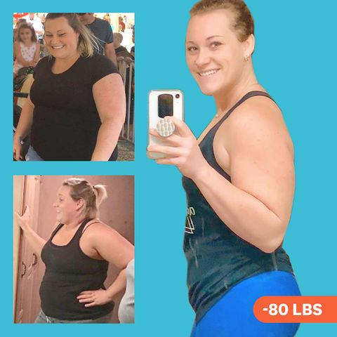 morgan calkin weight loss before and after