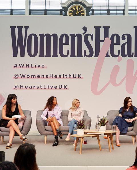 Panel talk atWomen's Health Live