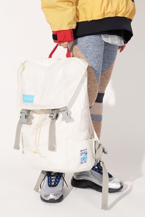 White, Product, Bag, Shoulder, Leg, Footwear, Joint, Luggage and bags, Backpack, Shoe,