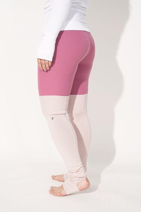 Clothing, Pink, White, Leggings, Waist, Leg, Tights, Magenta, Standing, Active pants,