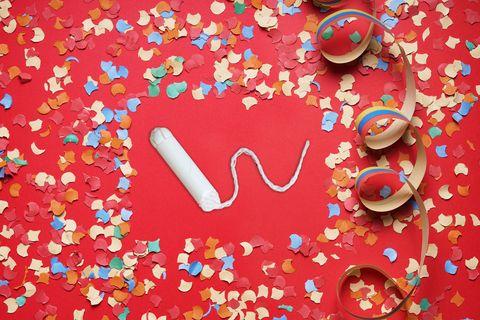 Heart, Confetti, Valentine's day,