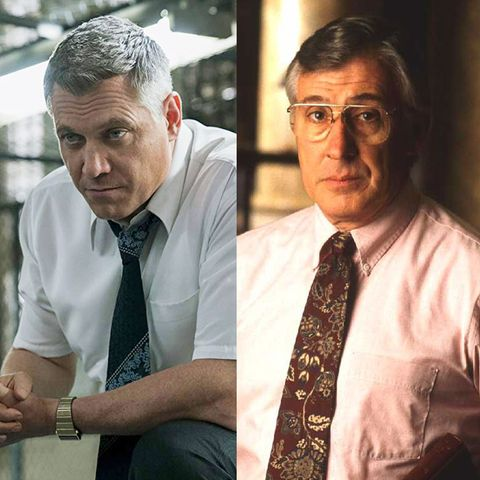 Holt McCallany Bill Tench Robert K Ressler Mindhunter