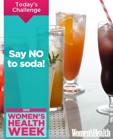 Say 'No' to Soda