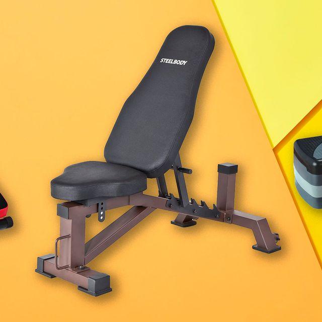 Exercise equipment, Bench, Leg extension,