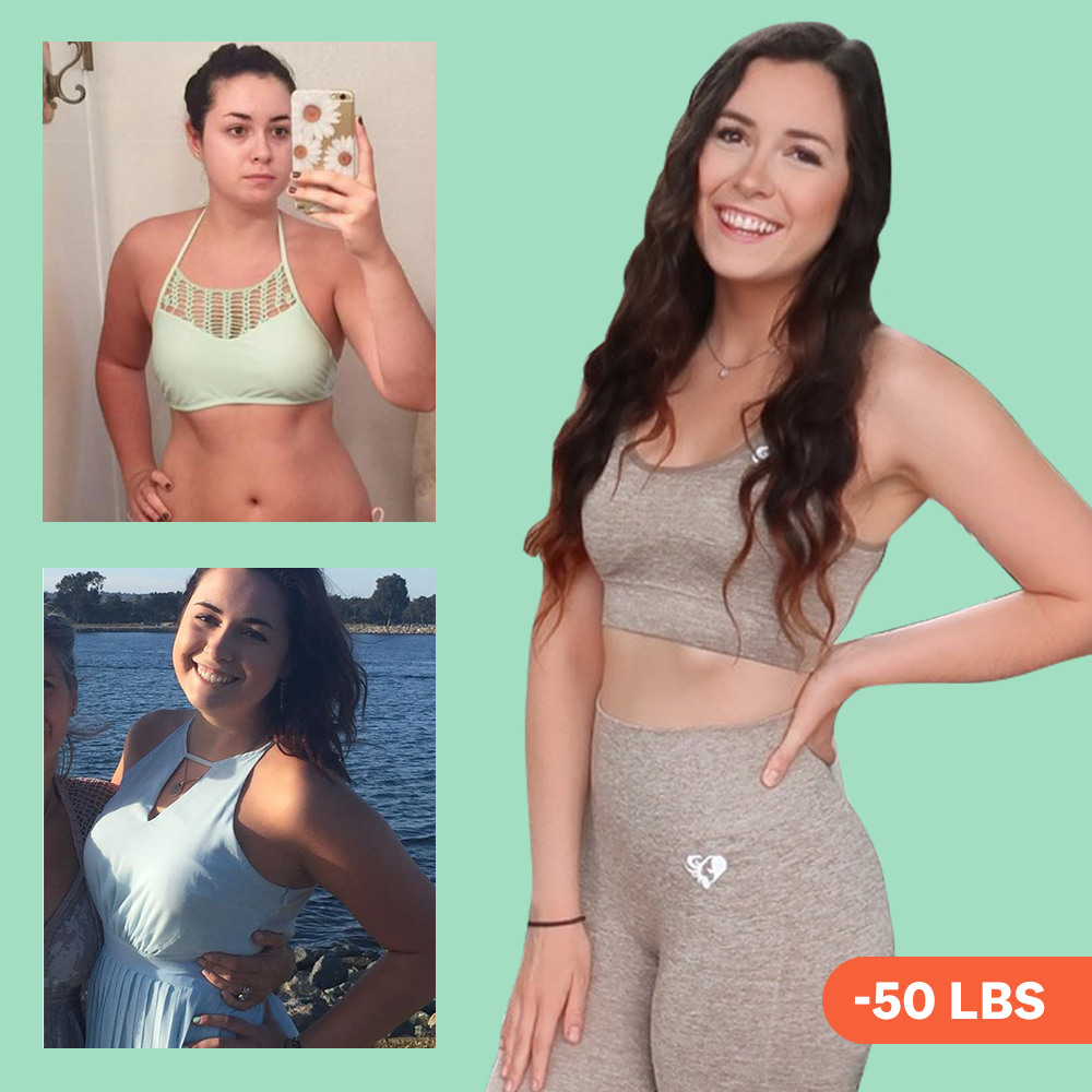 'I Swapped Detox Teas For The 80-20 Rule—And I Lost 50 Pounds'