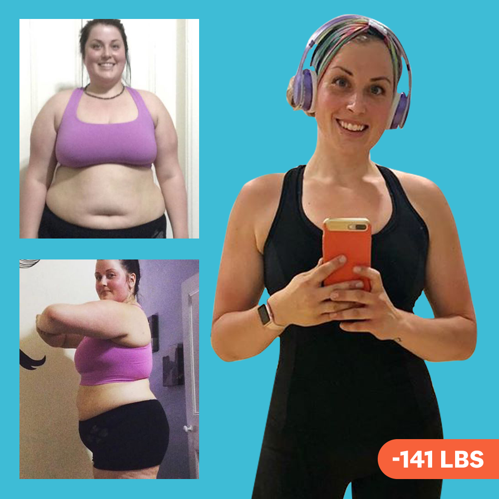 'I Counted My Macros On Keto And Got Into Low-Impact HIIT—And I Lost 141 Pounds'
