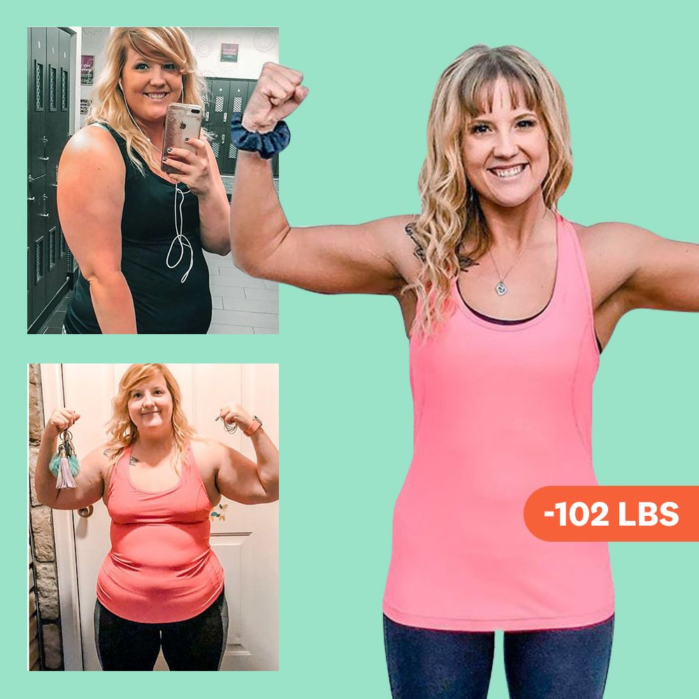 'I Did A Weight-Loss Challenge At Work And Started Strength Training—And I Lost 102 Pounds In A Year'