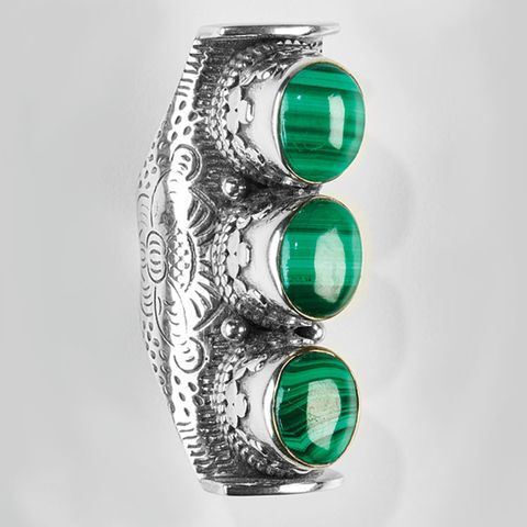malachite ring by Novica