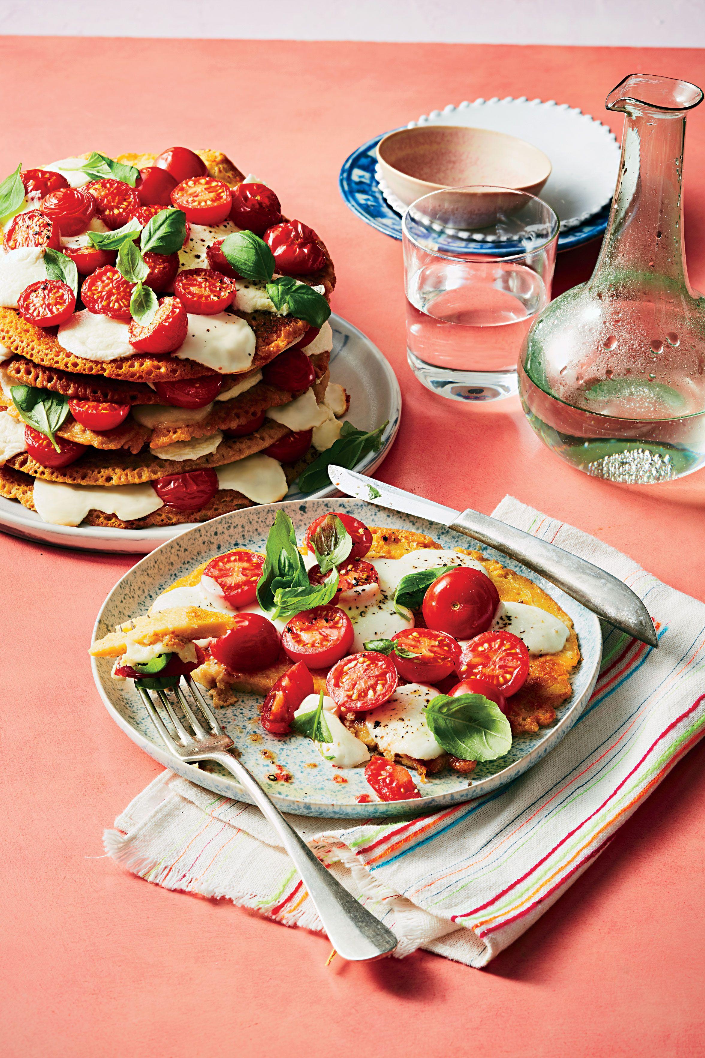 Socca french flatbread pancake