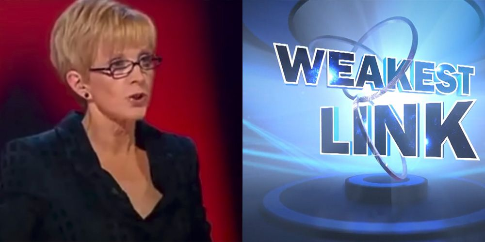 What Happened To The Weakest Link Original Host Anne Robinson Ann Robinson Now In 2020