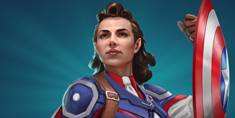 what if marvel capitan america peggy carter