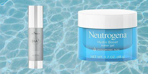 Neutrogena Hydro Boost Moisturizer and SkinMedica HA5 Serum