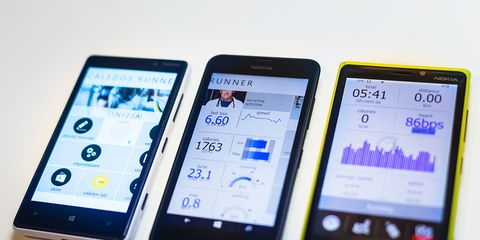 Fitness tracking apps.