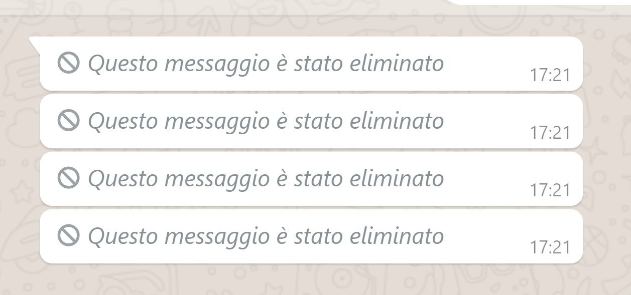 Come leggere i messaggi cancellati da Whatsapp