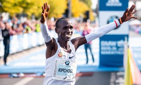 kipchoge, wereldrecord, marathon, berlijn