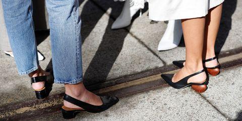 Leg, Human leg, Street fashion, Footwear, Clothing, Shoe, Ankle, Jeans, Fashion, High heels,