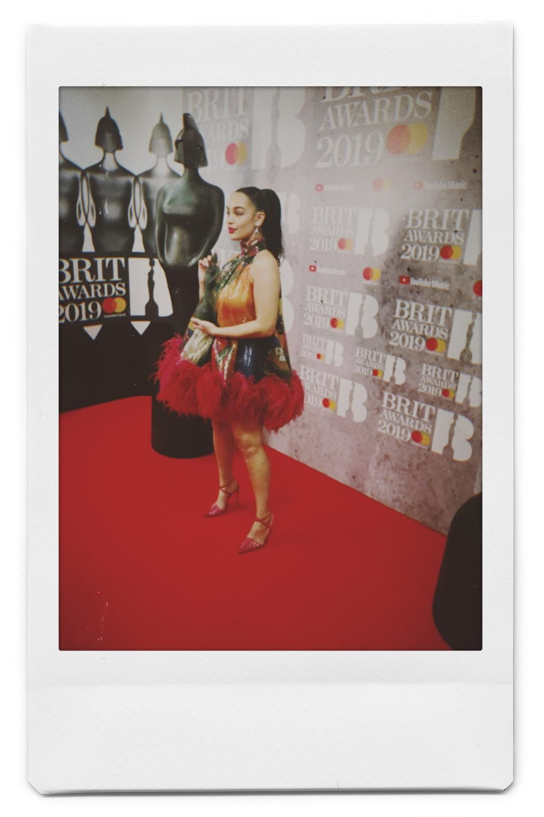 See Jorja Smith's Exclusive BRITs Photo Diary