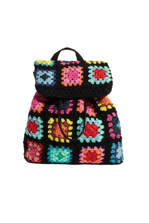 What to wear to carnival - skinny dip Cara crochet backpack - £17