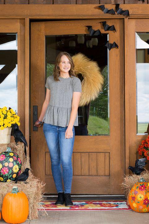 wheat wreath fall door decorations