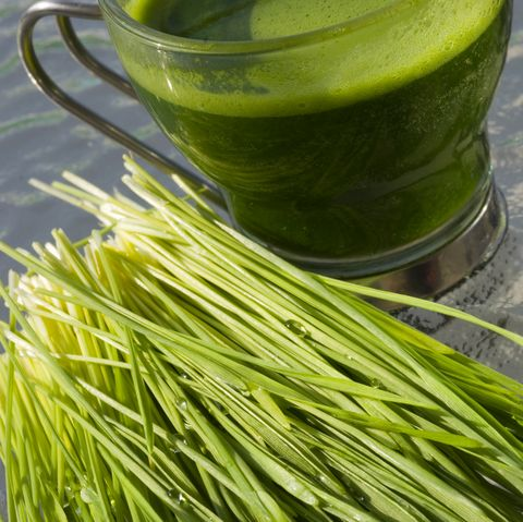 Wheatgrass Cocktail