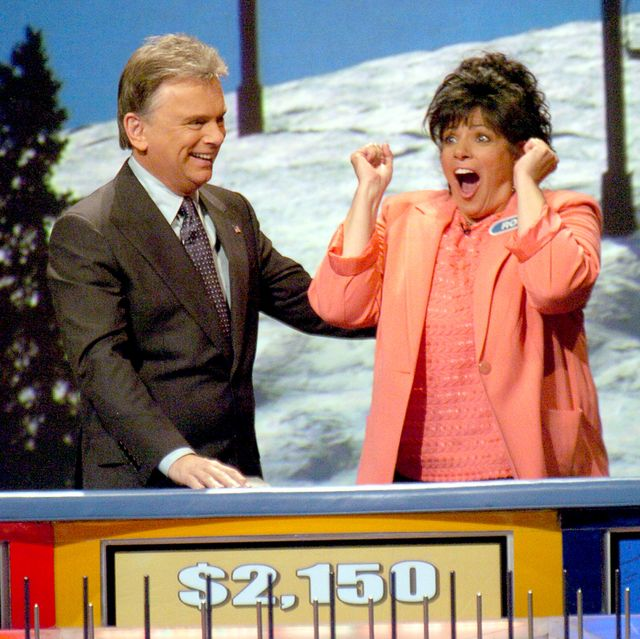 an excited xxxxxxxx reacts after winning a trip to iceland on wheel of fortune friday march 24, 2006 at the colorado convention center in denver, colo   daily camera  mark leffingwellphoto by mark leffingwelldigital first mediaboulder daily camera via getty images