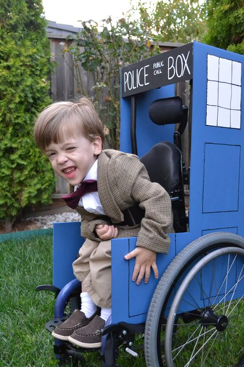 dr who wheelchairadaptive costume