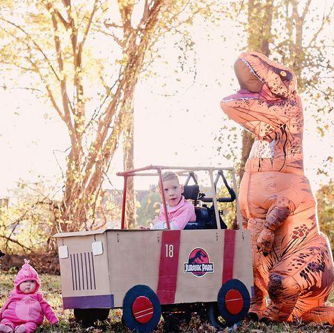 jurassic park wheelchairadaptive costume
