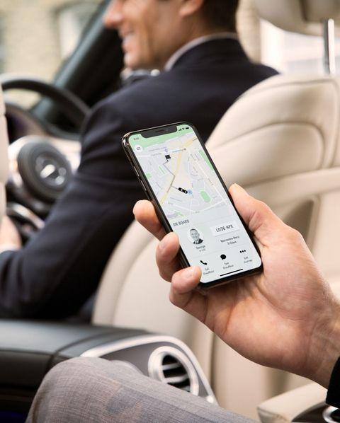 wheely chauffeur car app
