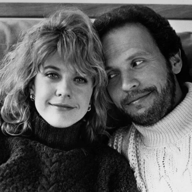 circa 1989  meg ryan and billy crystal pose for the movie when harry met sally circa 1989 photo by hulton archivegetty images
