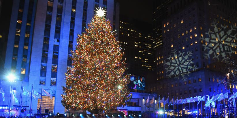 When Is The 2019 Rockefeller Center Christmas Tree Lighting On Nbc