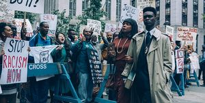 when they see us cast vs. real people