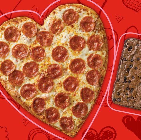 where to buy heart shaped pizza - papa johns