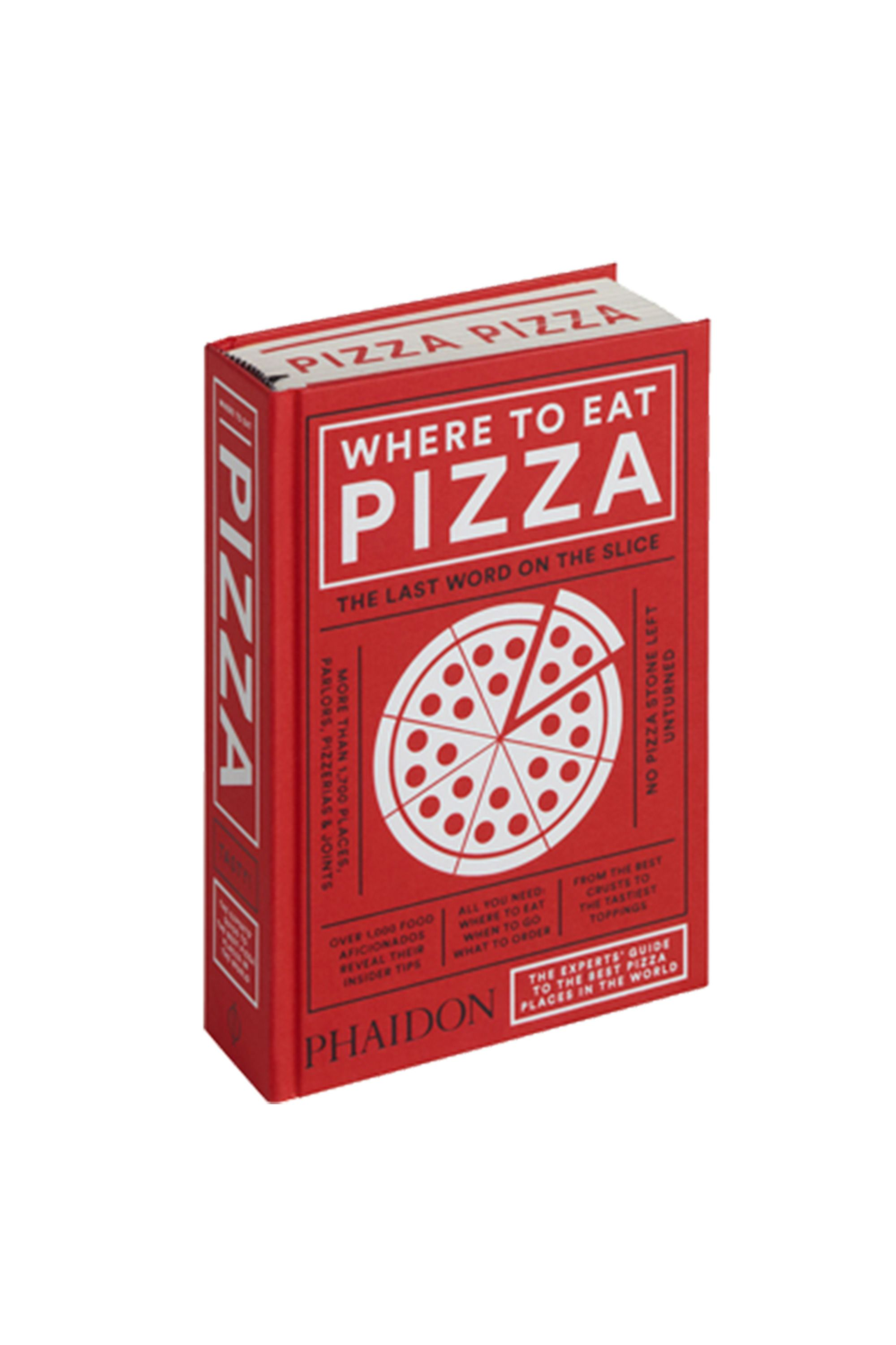 Where to Eat Pizza Book