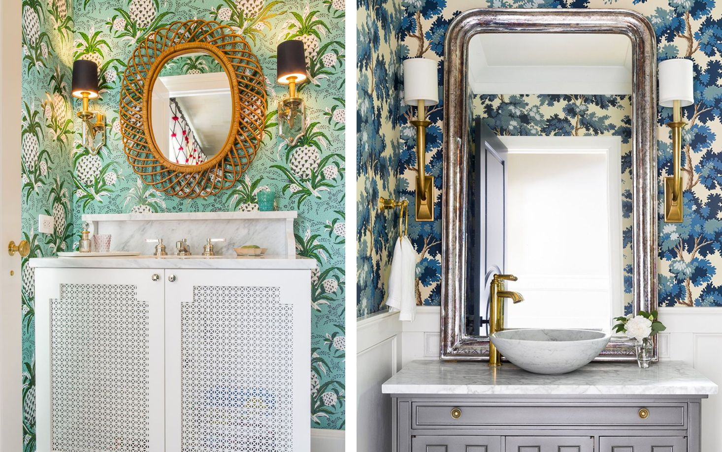 11 Whimsical Powder Rooms - Powder Room Design Ideas