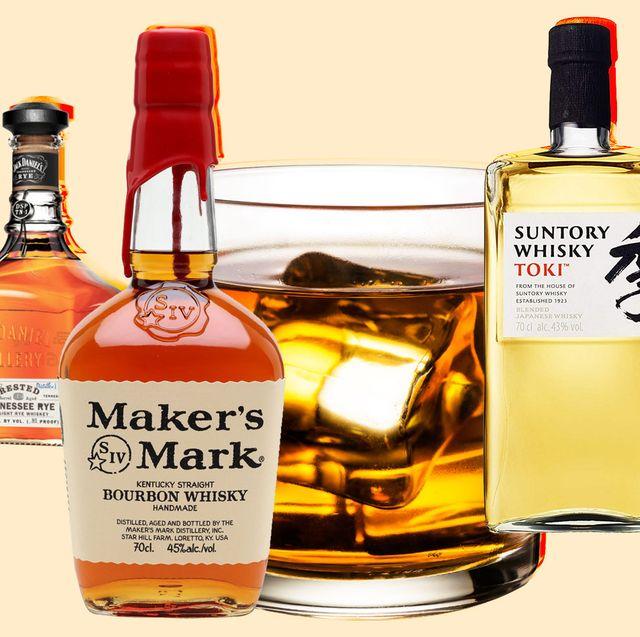 Distilled beverage, Drink, Liqueur, Alcoholic beverage, Glass bottle, Bottle, Whisky, Product, Alcohol, Scotch whisky,