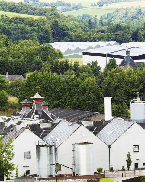 Whisky country - Speyside, Scotland