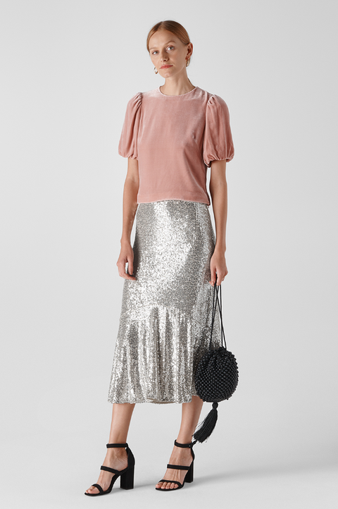 best sequin skirts party