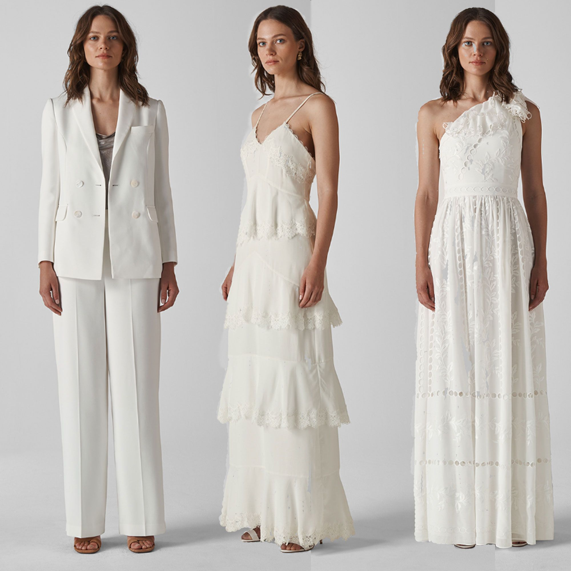 high street wedding dresses, whistles