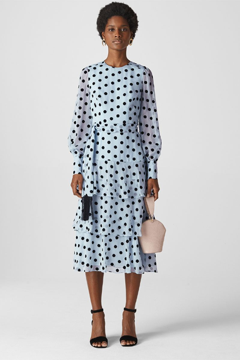 Polka Dot Wedding Dresses for a Guest