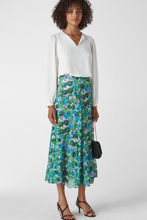 whistles dress skirt