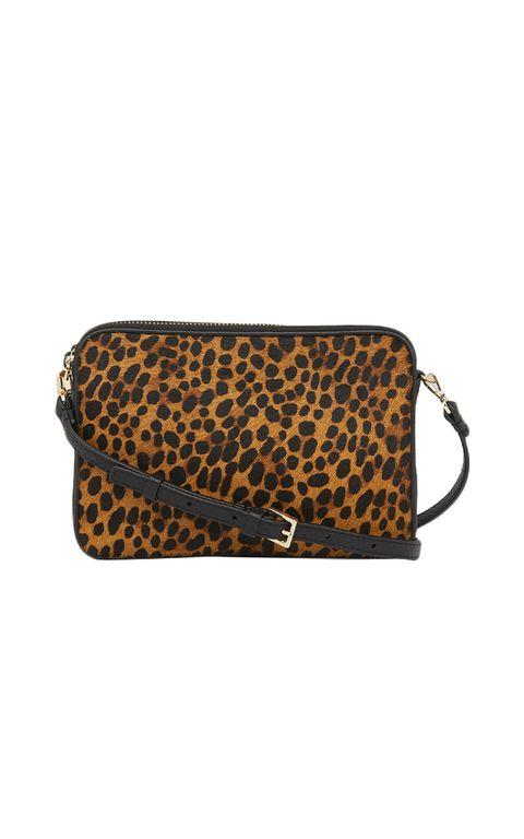 whistles leopard cross body bag