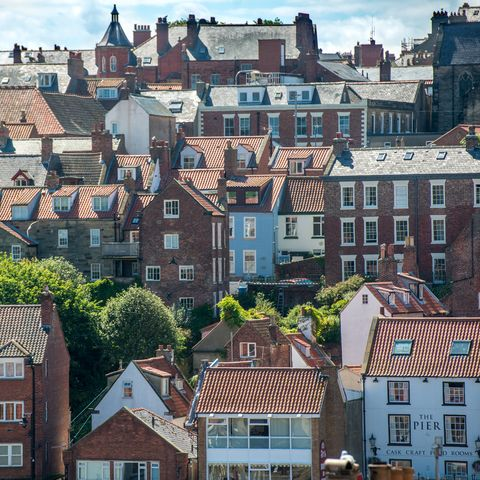 whitby, row of houses