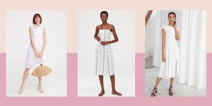 Dreamy white dresses to live in all summer