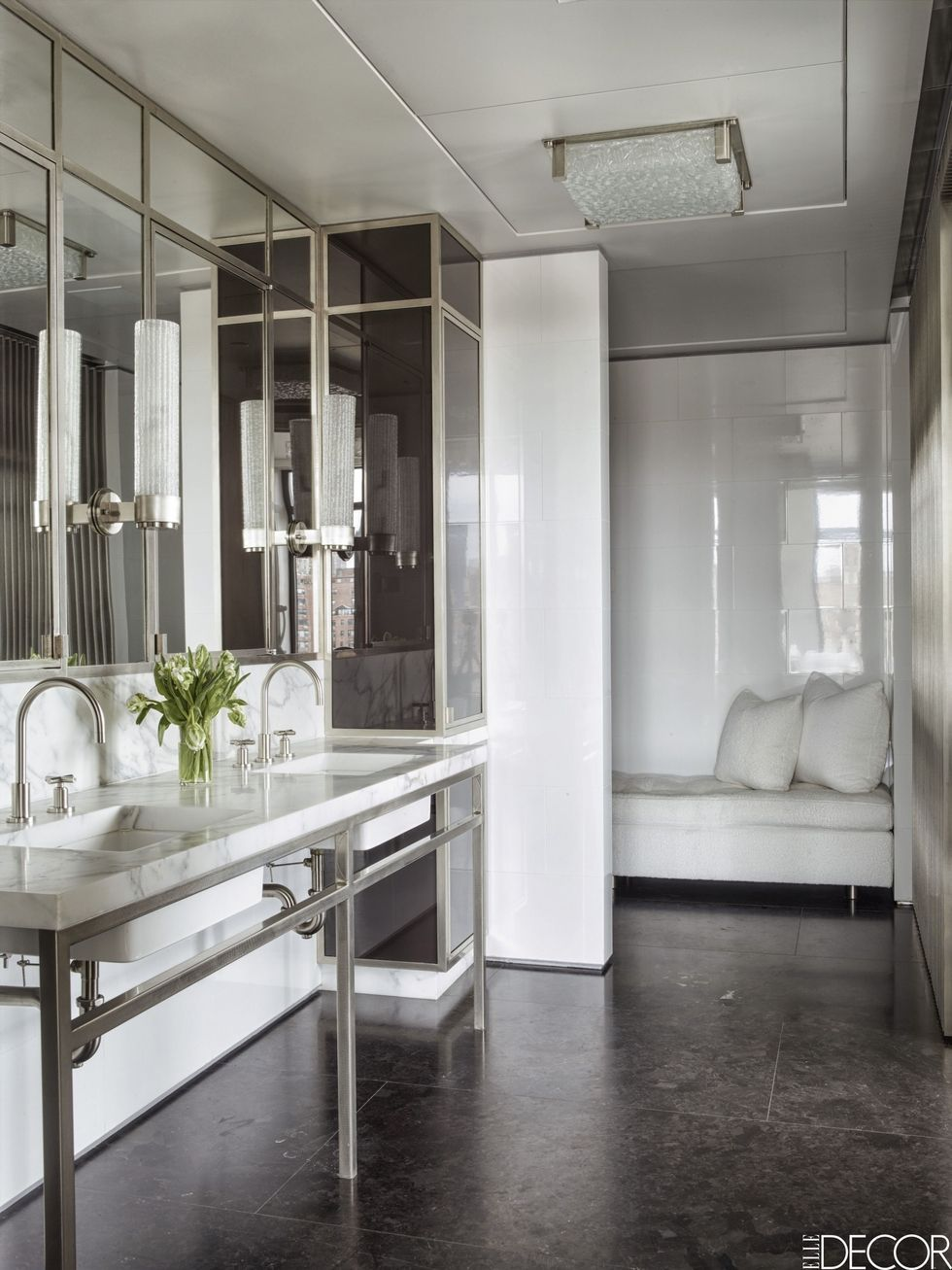 manhattan interiors drew aaron and hana soukupova s manhattan apartment white bathrooms