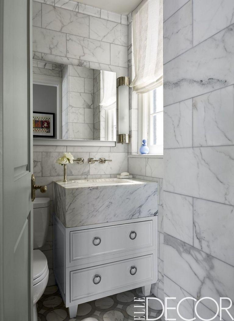 25 white bathroom design ideas decorating tips for all for All white bathroom decor