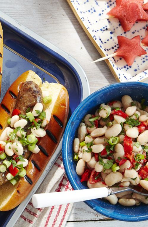 White Bean and Peppadew Salad