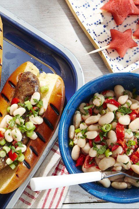 white bean peppadew salad