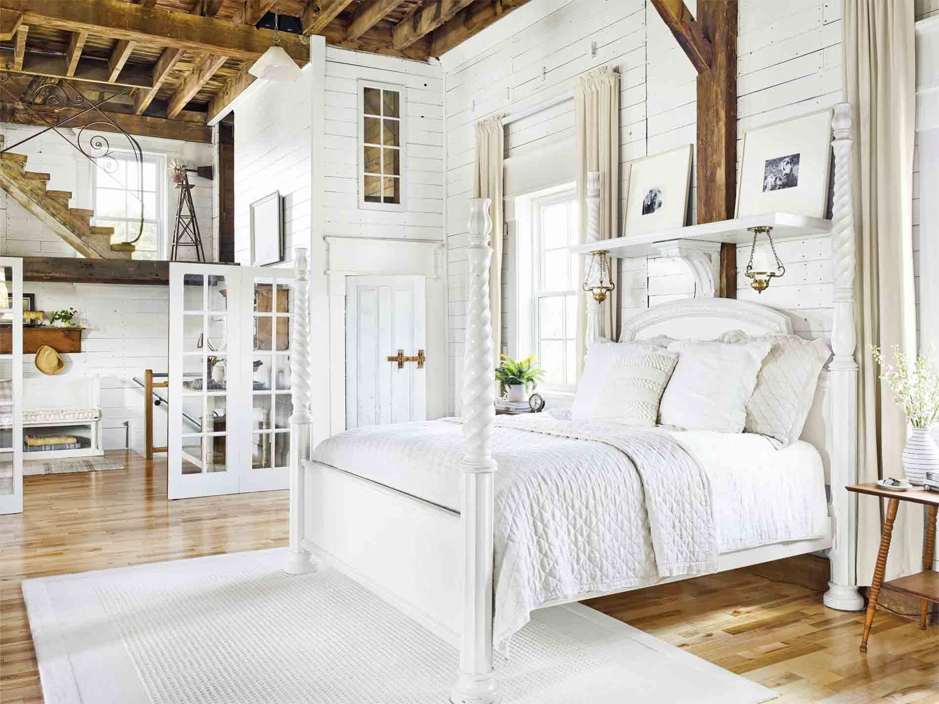 White furniture bedrooms Beautiful Country Living Magazine 35 Best White Bedroom Ideas How To Decorate White Bedroom
