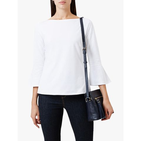 Meghan markle boatneck top