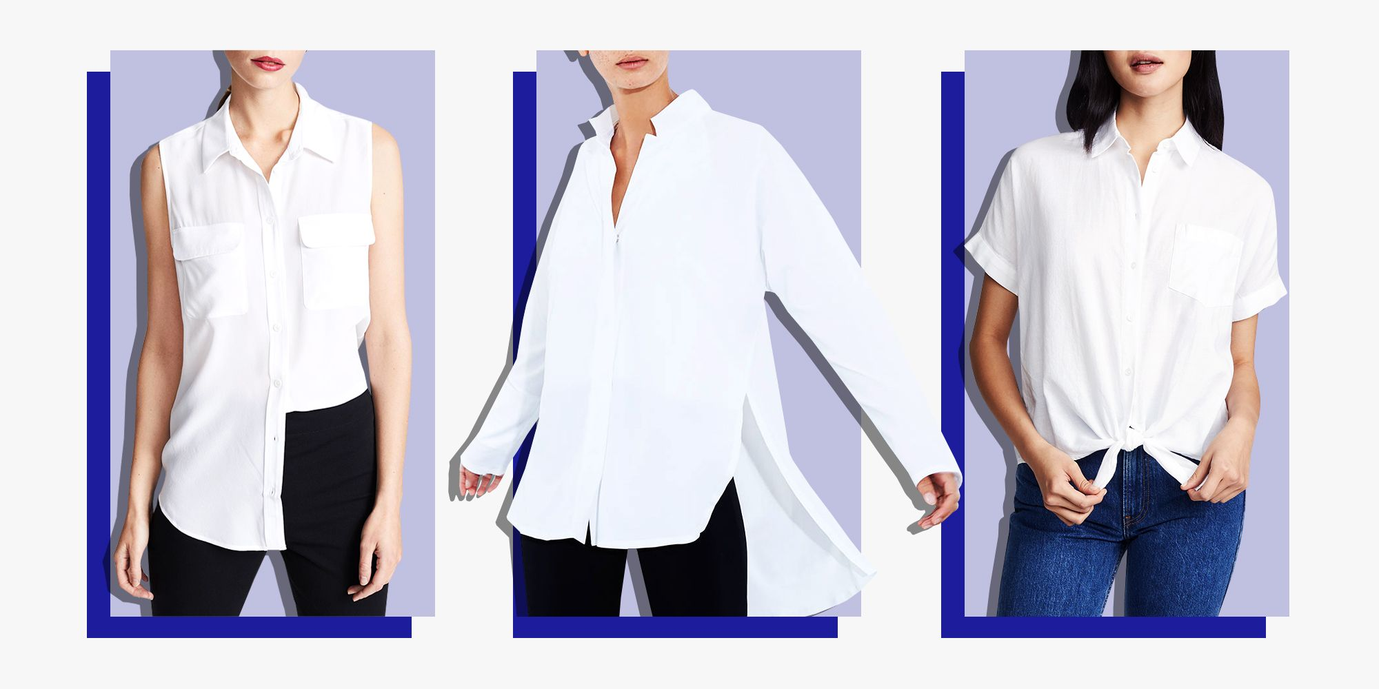 e96aad78289ce The Classic Women's White Button-Down Is More Than Just a Work Shirt